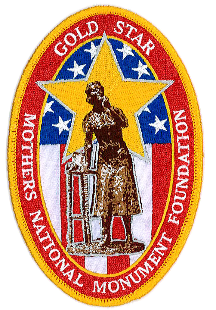 Gold Star Mother National Mounment Foundation Patch